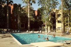 Кампус, внутренняя территория с бассейном, фото 4, California State University