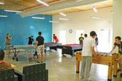 Комната отдыха, настольный теннис, Хоккей, California State University