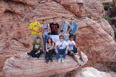 Las Vegas Institute FLS -Летний лагерь | языковая школа в США, фото участников курса Английского языка + фотографирование, на экскурсии, изображение 4