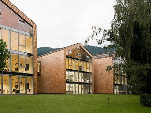 Вид основного здания летнего лагеря в Австрии, на базе школы пансиона St. Gilgen International School