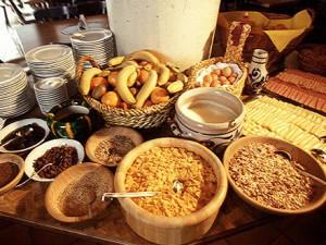 Здоровое питание в детском лагере в Австрии Zell am See