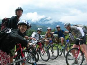 Прогулки на горных велосипедах в летнем лагере Австрии Zell am See