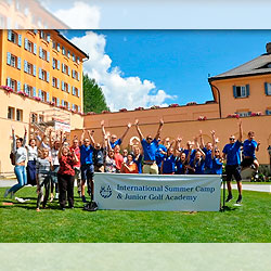 Lyceum Alpinum Zuoz-International Summer Camp & Junior Golf Academy на базе частной школы в Швейцарии