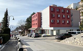 Здание летнего лагеря в Швейцарии FriLingue Leysin