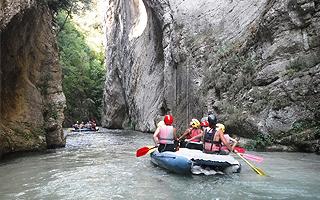 Сплав по горной реке Летняя школа в Италии Alphabet outdoor exploration