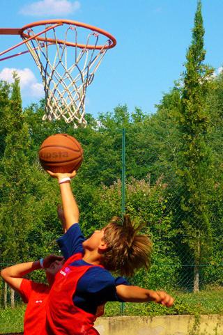 Баскетбол Летняя школа в Италии Alphabet Umbria summer school in Italy