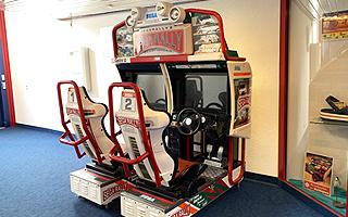 Игровой автомат для отдыха детей в летнем лагере в Швейцарии  FriLingue Leysin